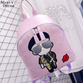 Mara's Dream The sun descended Song Zhongji cartoon Backpack new college wind schoolbag PU leather backpack