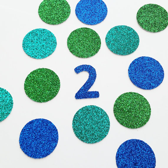 glitter peacock themed custom number birthday confettis for baby shower table decoration party wedding scatters cards