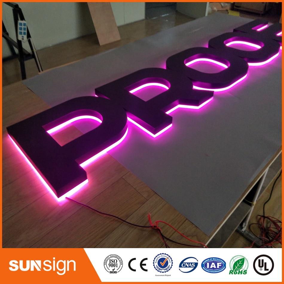 Top Grade Backlit Letter Bulb Acrylic Led Channel Sign