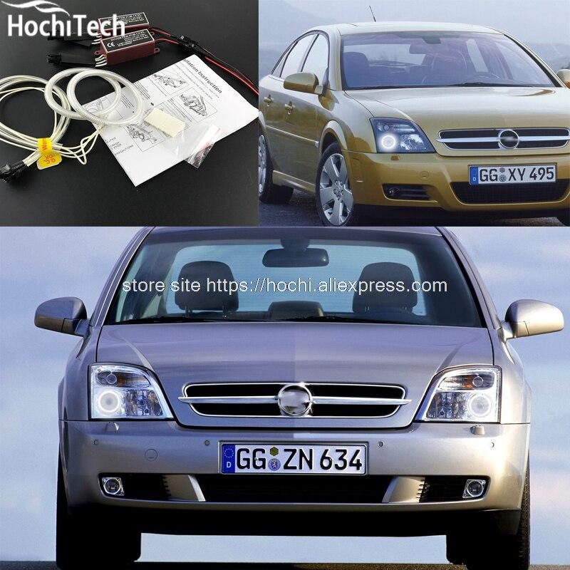 HochiTech Excellent CCFL Angel Eyes Kit Ultra Bright Headlight Illumination For Opel Vectra C 2002 2003 2004
