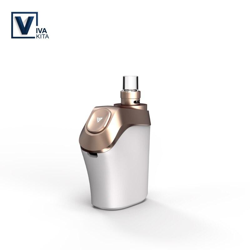 Vape KIT Vivakita fusión E 850 mAh cigarrillo electrónico vaporizador 20 W vapor mod 2,0 ml niño-bloqueo del atomizador 0.5ohm portátil kit de caja
