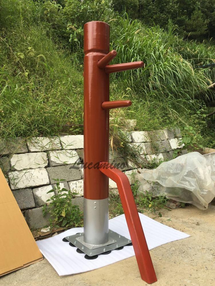 Usine vente libre en bois factice kungfu formation aile chun en bois dummys pour plancher bruce Lee mannequins pour promotionnel