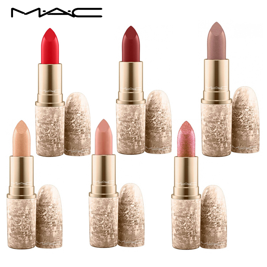 Mac 6 Different Colors Sexy Matte Lipstick Mac Makeup Long Lasting Lipsticks Pencil Lip Stick Cosmetic With Transparent Box