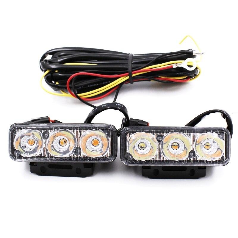 Yituancar 2Pcs / 9W 87MM LED DRL Gündüz işləyən İşıq DC12V - Avtomobil işıqları - Fotoqrafiya 4