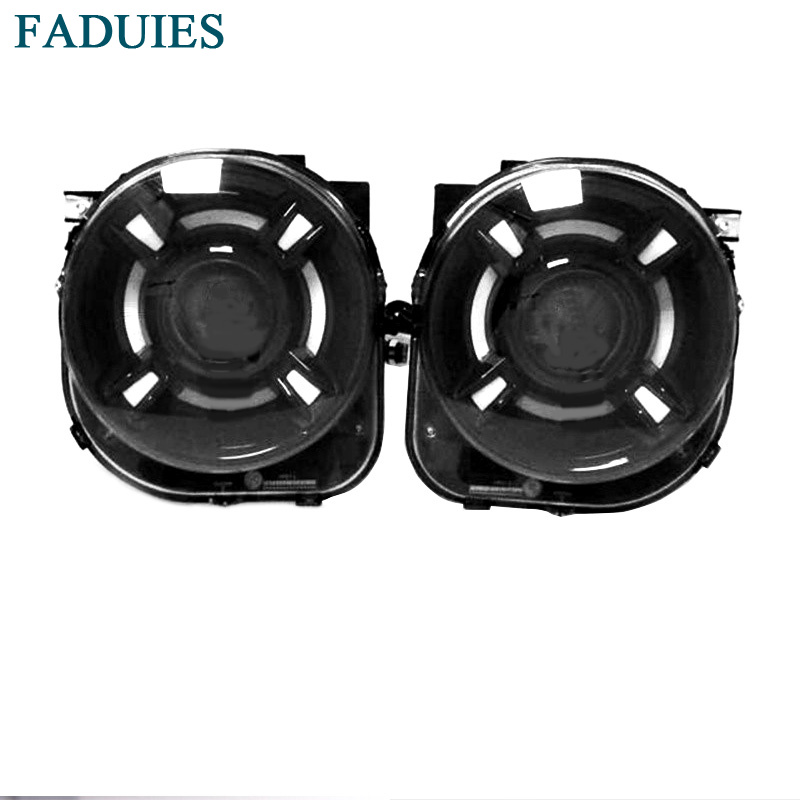 FADUIES For JEEP Renegade 2017 headlamp For Renegade LED Head lamp Angel Eye with DRL front light Bi-Xenon Lens xenon HID union car styling for renegade headlights for renegade hid head lamp angel eye led drl front light for jeep renegade hid lamp