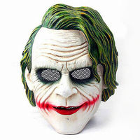 Clown Mask Eyes Protection Wire Mesh The Dark Knight Batman Party masks Airsoft Joker CS GO Halloween Cosplay