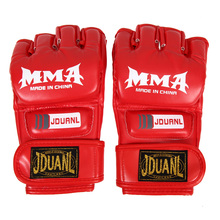 Half Finger MMA Gloves