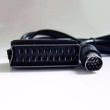 Haute Qualité Sega Saturn SS RVB Réel PÉRITEL Câble TV Plomb pour PAL, NTSC Consoles