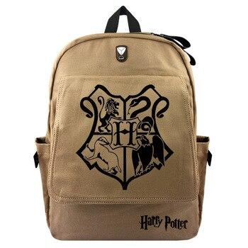 Hari กระเป๋าเป้สะพายหลังผ้าใบนักเรียนกระเป๋าเป้สะพายหลังโรง