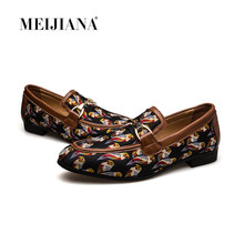 MEIJIANA Quality Split Leather Shoes Fashion Comfortable Casual Shoes Hot Sale Banquet Shoes Loafers Men Shoes 2019 New(China)