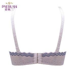Image 3 - PAERLANครึ่ง1/2ถ้วยLittle Bra Braush Push Upชุดแต่งงานBraหน่วยความจำนุ่มUnderwireลูกไม้เซ็กซี่ผู้หญิงดอกไม้ชุดชั้นใน