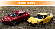 Huanqi 666 1:18 Scale Remote Control Typical Car High Speed Racing Vehicle Toy 2016 New Arrival Novelty RC Toy For Children