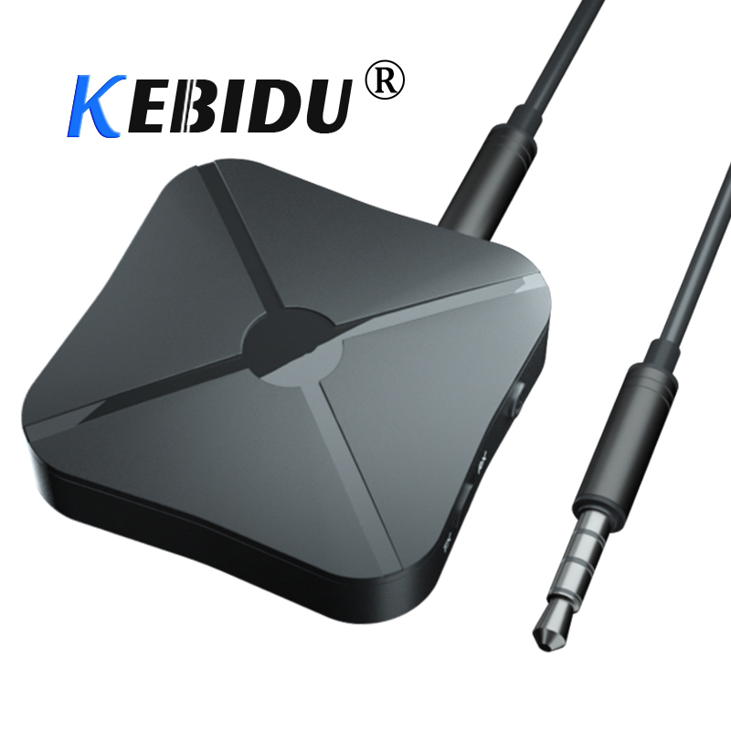 Funkadapter Kebidu 2 In1 Bluetooth 4,2 Sender & Empfänger Wireless Audio Adapter Aux 3,5mm A2dp Avrcp Audio Player Für Pc Smart Telefon Profitieren Sie Klein