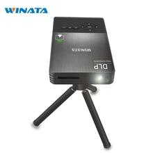 Mini vidéo Projecteur Wifi Intelligent Projecteur DLP 1080 P Proyector avec HDMI Bluetooth Projecteur pour les Entreprises, Home Cinéma, TV, SCH