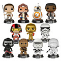 2016 new Genuine funko pop star war The Force Unleashed BB-8 obi wan rey finn kylo ren model Action Figurine doll car Decoration