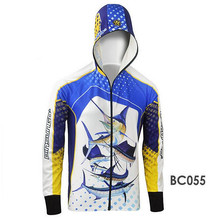 2017 Brand Men Women Zipper cardigan Anti UV Breathable Quick drying Professional Clothes For Fishing Men