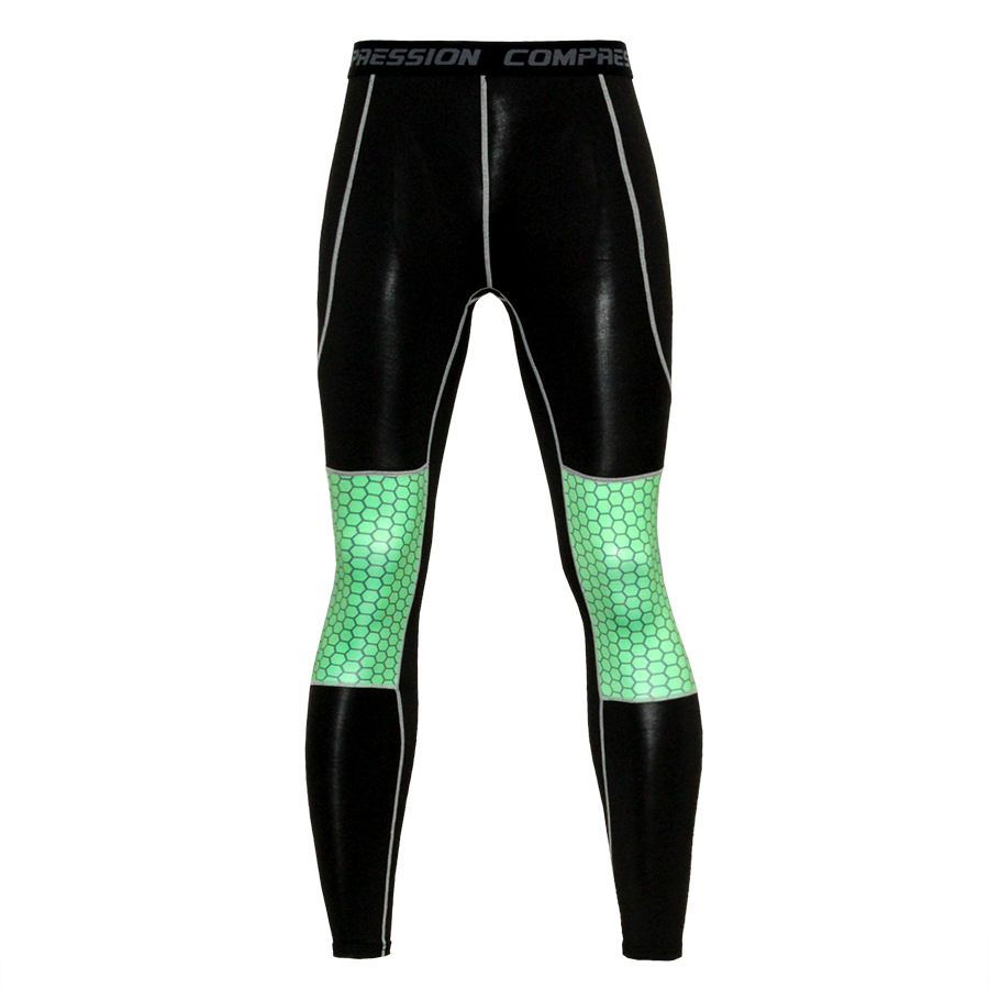 ZYMFOX Men Running Trousers Fitness Training Exercise Long Pants Sports Tights Leggings Men Running Pants Sportwears