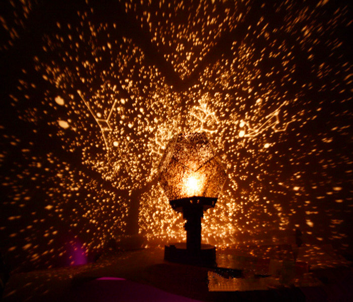 Light Up Your Garage Creatively: 2AA/USB Plug In DIY Romantic Galaxy Starry Sky Projector