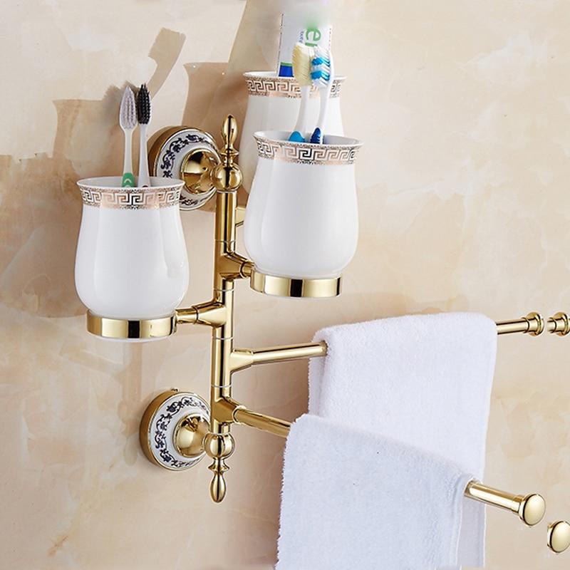 wall mounted porcelain crystal movable Towel Rack wc Towel Bar Toilet Towel Hanger Bathroom Towel Holders cup Bath Hardware Set different colors wall mounted clothes hook bathroom towel hanger crystal