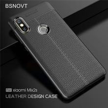 For Cover Xiaomi Mi Mix 2S Case Soft Silicone PU Leather Shockproof Case For Xiaomi Mi Mix 2S Cover For Xiaomi Mi Mix 2s Case защитное стекло xiaomi mi mix 2s прозрачный