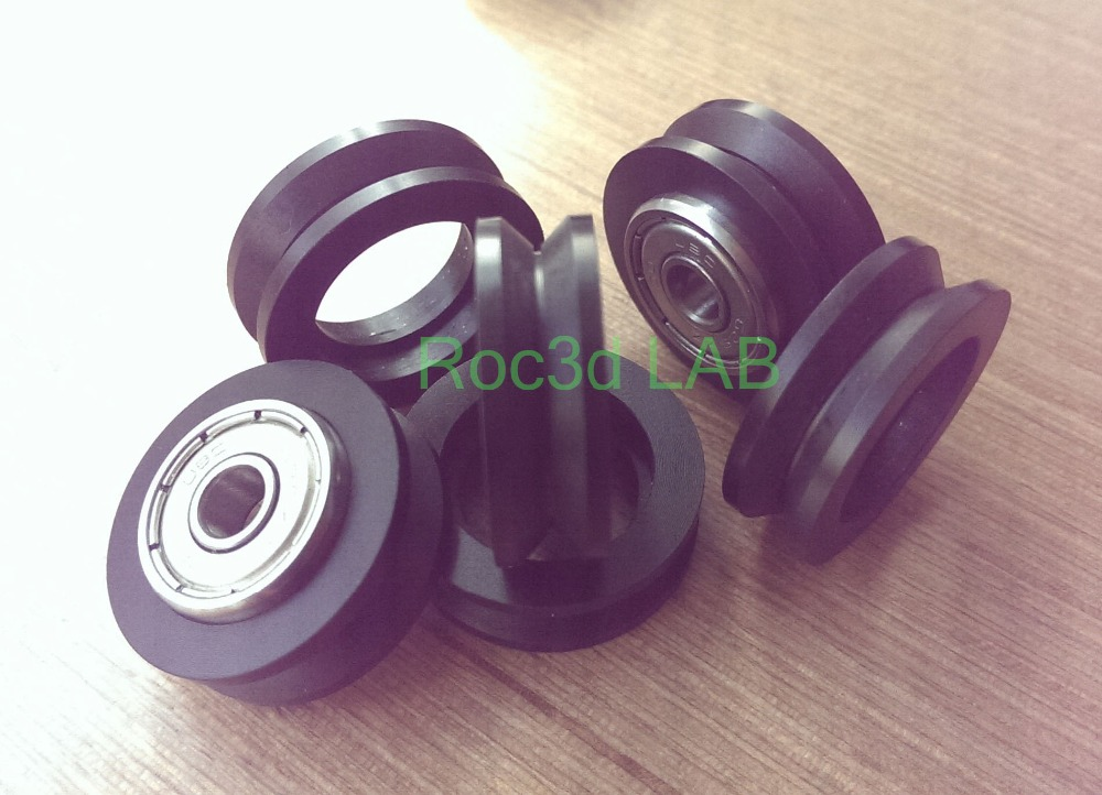 [SKU 150] precision machining lathe Single V POM V slot Wheel Delrin makerslide for your building 50pcs Per Bag Free shipping женское платье summer dress 2015cute o women dress