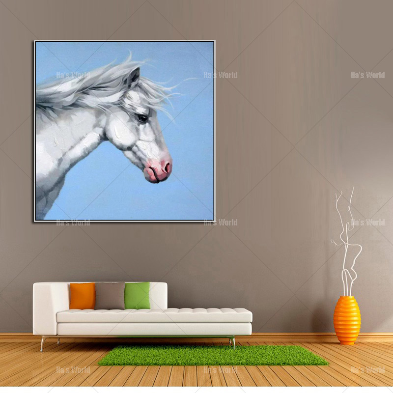 №Magnífico Animal arte pintura al óleo pintada a mano pura en la ...