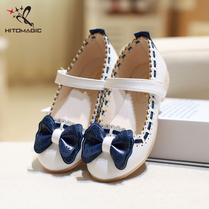 HITOMAGIC Girls Leather Shoes For Party Children Shoes Girls Wedding Princess Dance Bow Tie Childrens Footwear Brand Kids GirlHITOMAGIC Girls Leather Shoes For Party Children Shoes Girls Wedding Princess Dance Bow Tie Childrens Footwear Brand Kids Girl