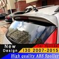 Для Hyundai I30 2007 до 2015 спойлер высокого качества ABS Материал грунтовка или любой цвет заднее крыло спойлер