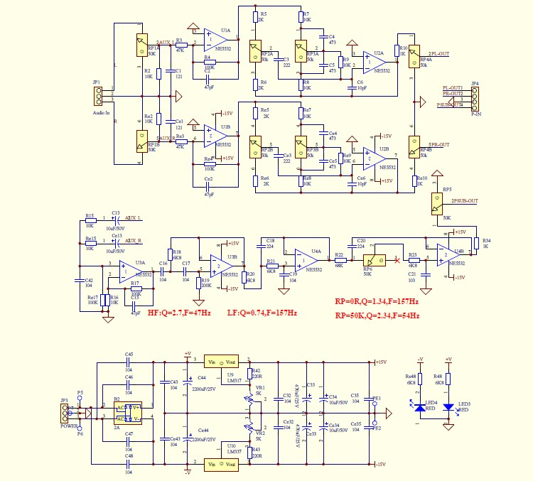 siwire: Tda7294 Subwoofer Schematic on