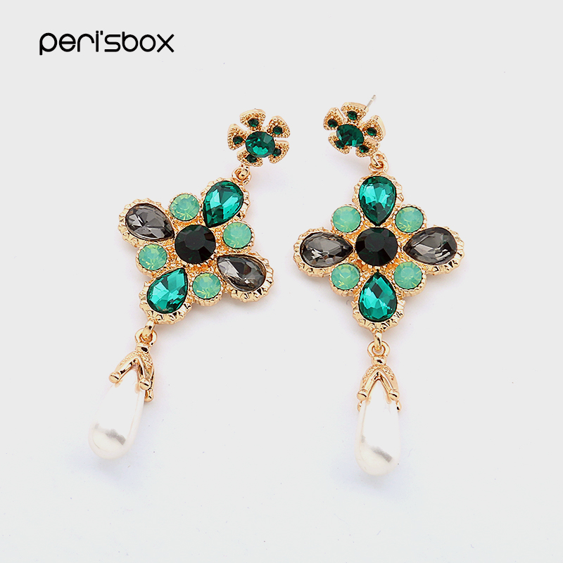 Buy pearl and rhinestone chandelier earrings and get free shipping on  AliExpress.com aa38d90a5503