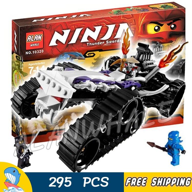 ФОТО 295pcs Bela 9732 New Ninja Turbo Shredder Building Blocks Model Toys Spinjitzu Dojo Compatible With lego