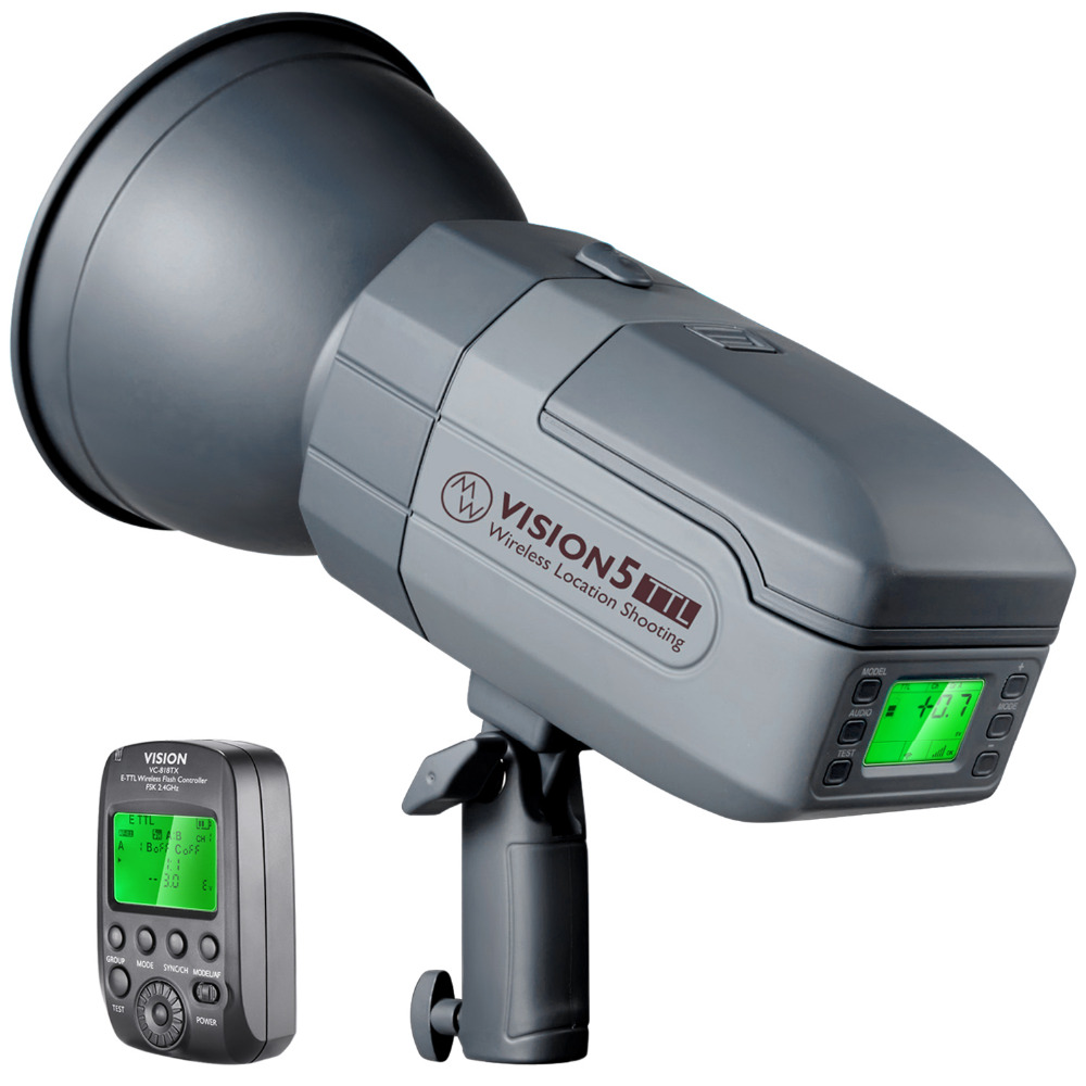 Neewer Vision5 400W TTL 2.4G HSS Studio Flash Strobe Lithium Battery (up To 500 Full Power Flashes) German Engineered Bowens