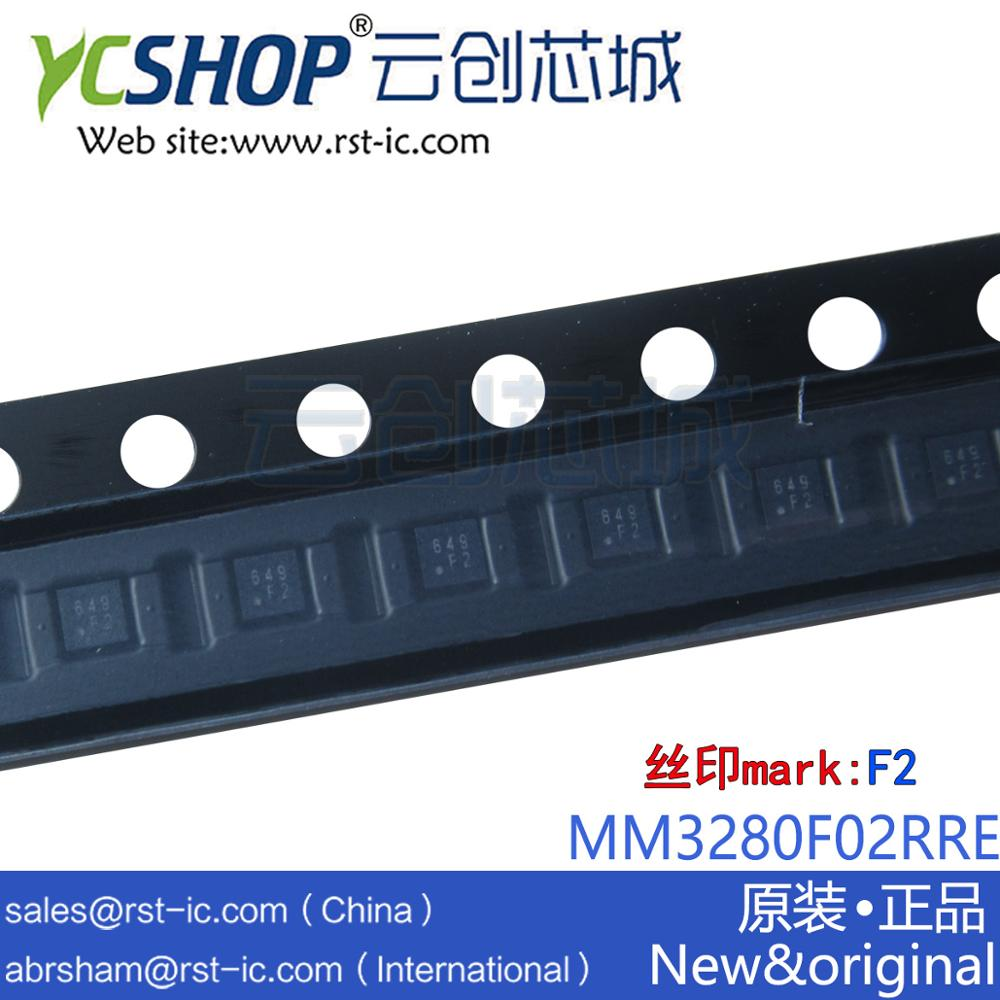 Marking IC MM3280F02RRE Battery-Protection SSON-6J One-Cell Lithium-Ion/lithium-Polymer