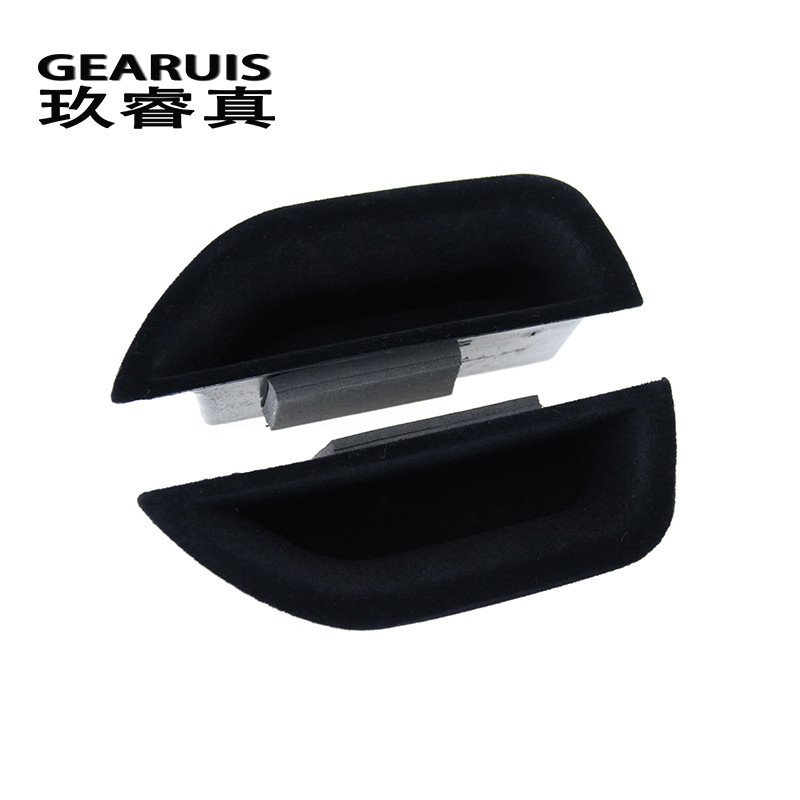 Car styling For Mercedes Benz E class W212 Interior Door handle storage box organizer stowing tidying auto accessories container mini soft silicone car trash bin rolling cover type garbage cup dust rubbish box container organizer interior accessories