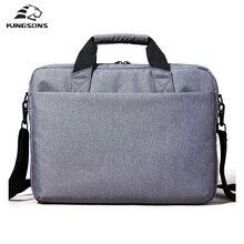 Kingsons Водонепроницаемый высокое качество сумки ноутбук для 12 13 14 15 дюймов компьютер Бизнес Путешествия Мужчины и женщины Записные книжки сумка 2017