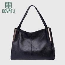 BOYATU Top-Handle Bags Female Luxury Handbags Women Bags Designer Tote Bags for Women 2017 Genuin Leather Sac A Main Femme Canta