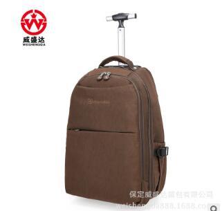 Bagaj ve Çantalar'ten Seyahat Çantaları'de Tekerlekli Haddeleme Sırt Çantaları Seyahat arabası Haddeleme çanta Erkekler Naylon Seyahat arabası çanta Bagaj iş bavulu bavul tekerlekler üzerinde'da  Grup 2