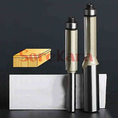 1/2*1/2*2-1/2 CNC Woodworking Engraving Machine Bit Tungsten Steel Tools Milling Cutter Cutting Wooden Trimming Knife 1 2 943806