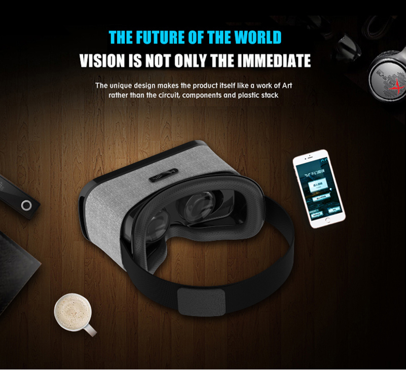 17 VR Shinecon 3D Immersive Virtual Reality Glasses Cardboard Wearable VR Box Headset for 4.3-6.0 inch Smartphone + Controller 14