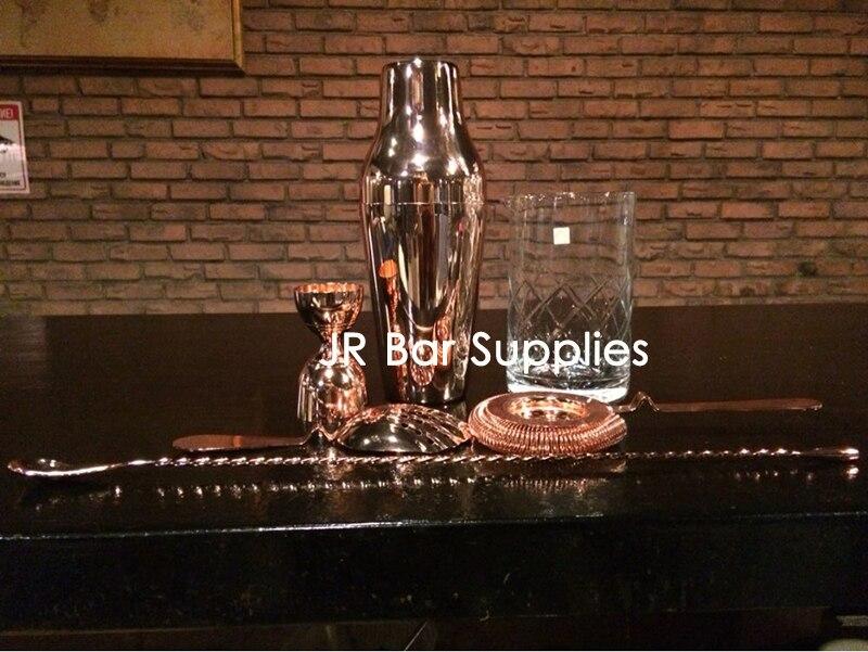 Livraison gratuite Bar Cocktail ensembles Cocktail Shaker barman outils Bar ensembles 6 pièces y compris mélanger le verre