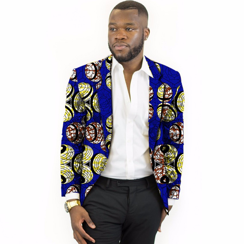 fe343f23af Limited men dashiki suit thin african print blazer custom mens african suit  africa clothing for wedding -in Blazers from Men's Clothing & Accessories