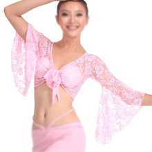 NEW Sexy Belly Dance Dancing Lace Blouse Top Bra Dancewear Costumes