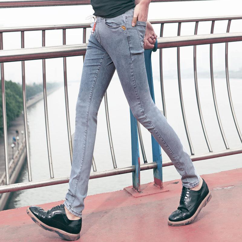 Online Shop HOT 2015 summer style skinny jeans men fashion slim ...
