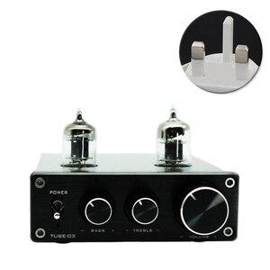 Image 2 - Hi Fi Vacumn 6J1 трубный универсальный усилитель RIAA, предварительно Регулируемый с поворотной антенной и гнездом для наушников, усилитель алюминиевый Phono Mini Home
