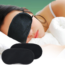 Bamboo Charcoal Cotton 3D Sleeping Eye Mask Nap Travel Shade Blindfold Cover