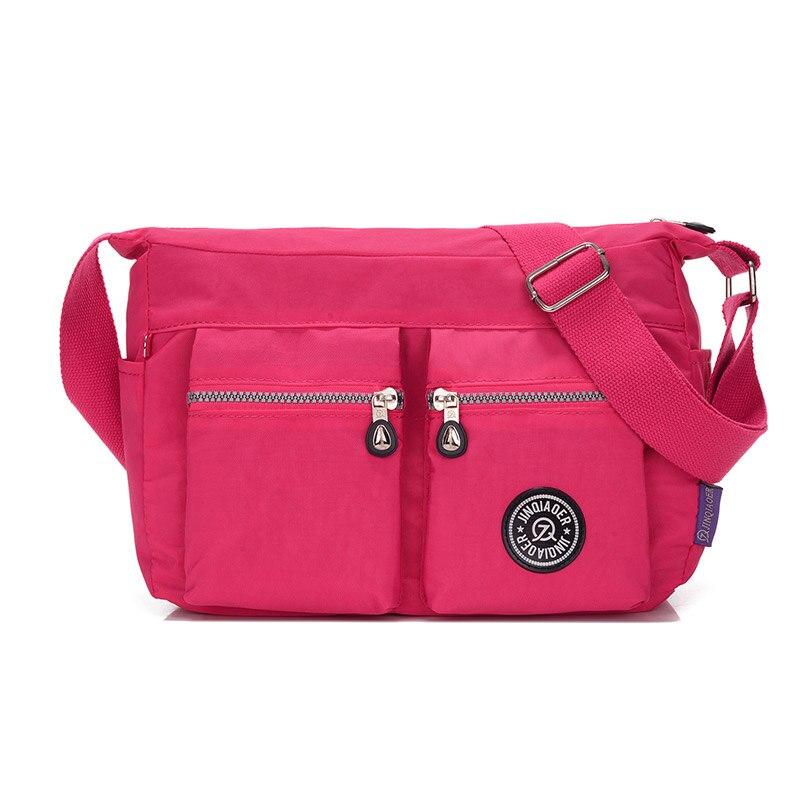 713b9f4d6a8 Summer Style Handbag Women Messenger Bags for Women Waterproof Nylon 10  Colors Shoulder Bag Ladies Crossbody Bags bolsa feminina-in Top-Handle Bags  from ...