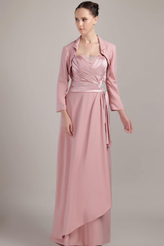 Compra madre del novio vestidos de dos piezas online al por mayor de ...