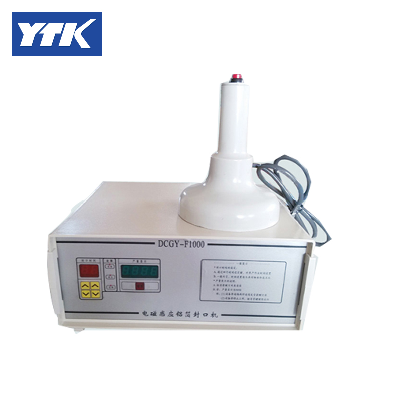 YTK 70-130mm Induction Aluminum Foil 120mm Vacuum Sealer Cap Sealing