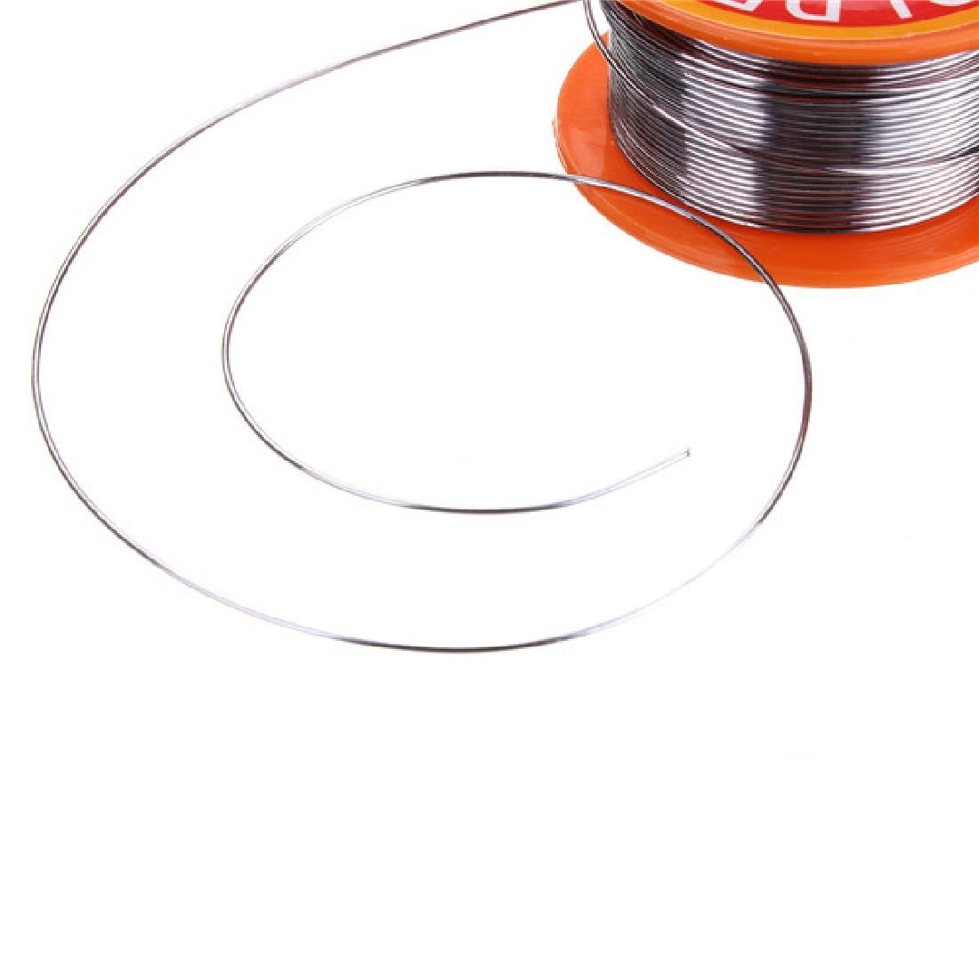 Купить с кэшбэком No-clean Tin 0.8mm Rosin Core Tin/Lead 0.8mm Alloy Rosin Roll Flux Solder Wire Reel Welding Line Solder Wire Clean Rosin Core