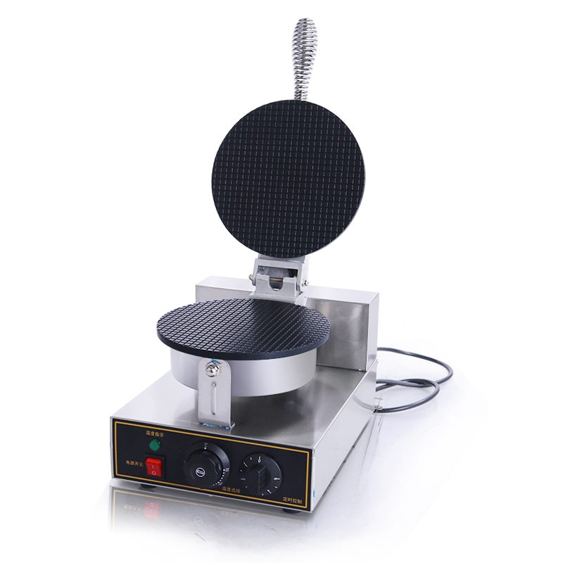 hot rotary waffle making machine 220V commercial electric stainless steel cake waffle maker/double sponge bob/Waffles & Pancakes directly factory price commercial electric double head egg waffle maker for round waffle and rectangle waffle